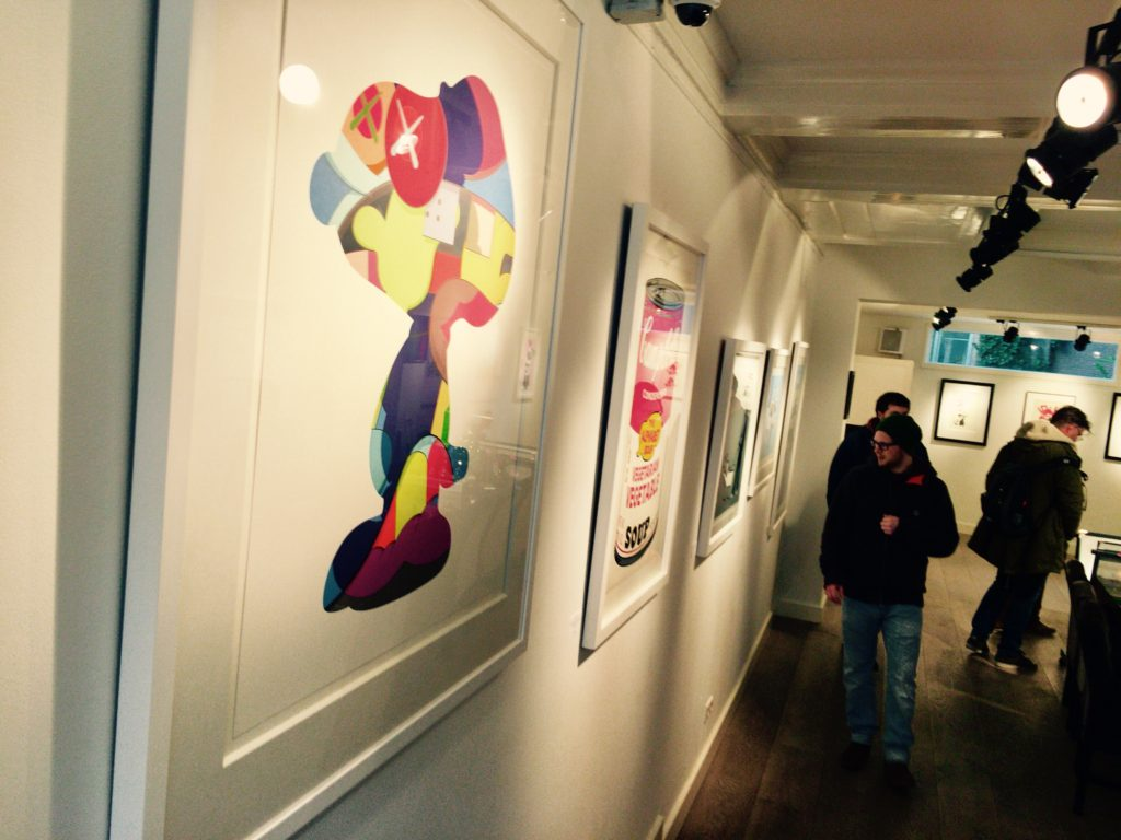 KAWS Lionel Gallery
