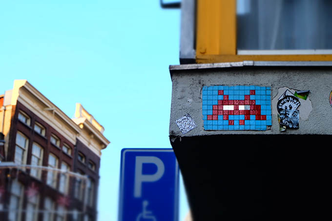 Invader in Amsterdam1
