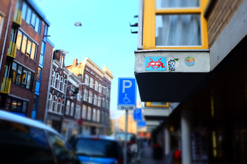 Invader in Amsterdam2